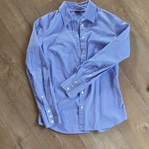 J.Crew gingham button down